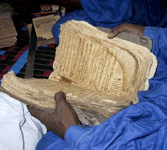The Islamist invaders destroyed many historical sties and manuscripts.