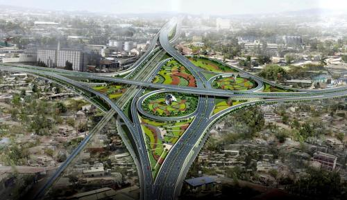 Development in Addis Ababa, the capital