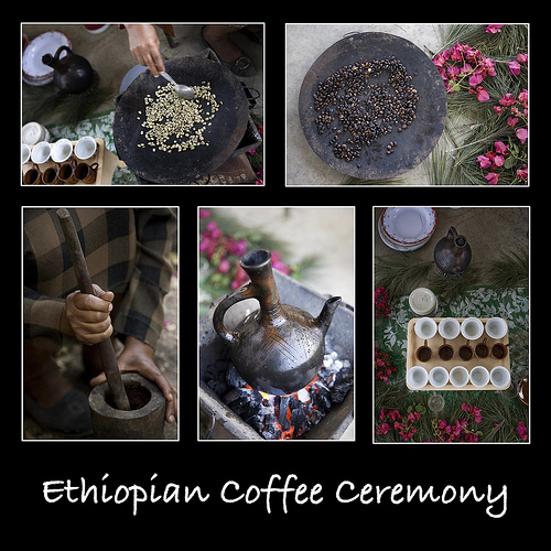 Not forgetting that Ethiopia was the home of all our coffee