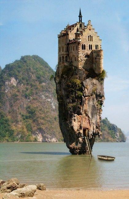 Dublin, Ireland... Castle house Island